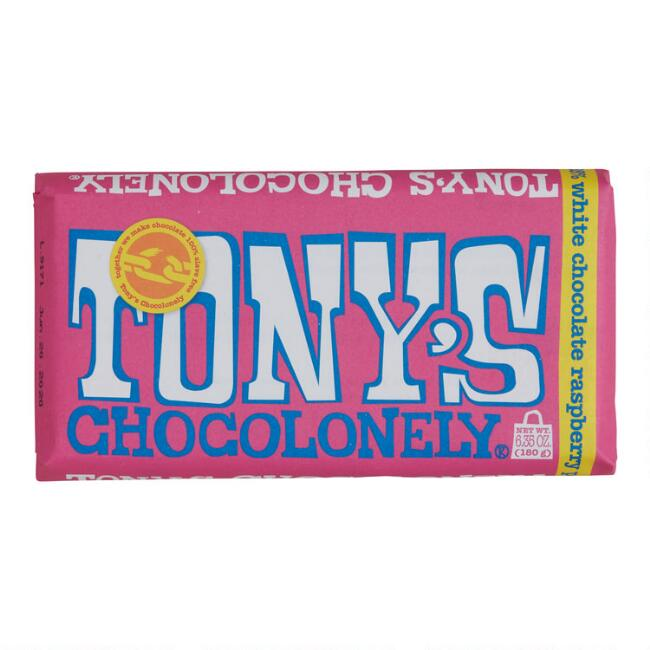 Tonys Chocolonely Berry Popping Candy White Chocolate Bar