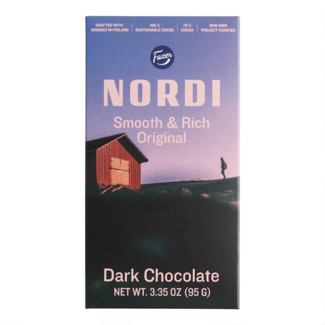 Nordi Dark Chocolate Bar